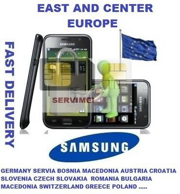 Unlock Code  Samsung S4,s5,note,(All Models) Germany Austria Poland Switzerland