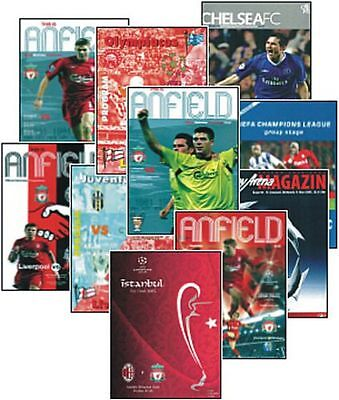 European Cup Champions League Final 2005 Trading Card Set