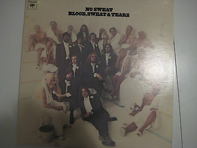 """Vintage Blood, Sweat and Tears record album """"No Sweat"""""""