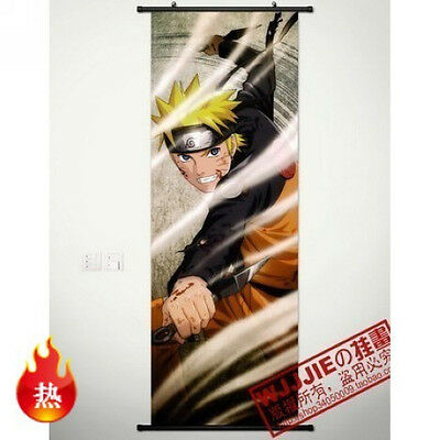Naruto Uzumaki Naruto Home Decor Anime Poster Wall Scroll HY440 45*125CM