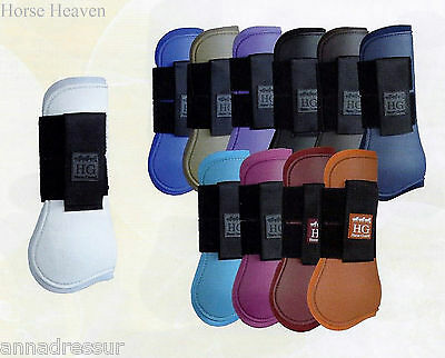 Horse Guard Tendon & Fetlock Protection Jumping Boots, 14 Colours