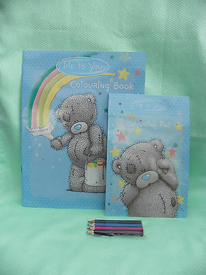 Me To You COLORIAGE lot COULEURS et CARNETS motifs Tatty Teddy