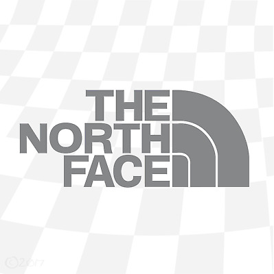 "The North Face sticker x1  Treking Walking MTB Ski Snowboard 6""or 8"" available"