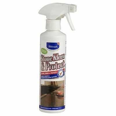 Hillmark Stone Kleen & Protect Marble Granite Reconstituted Stone CLEANER 375ml
