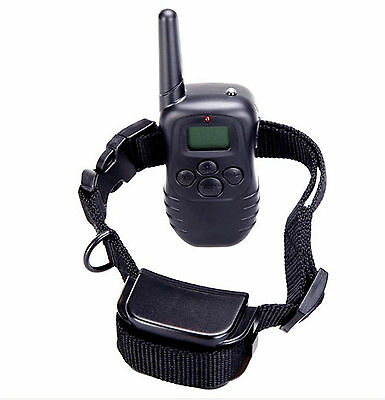 Rechargeable 100LV Remote Electric Vibration Pet Dog Training Collar for 1 Dog