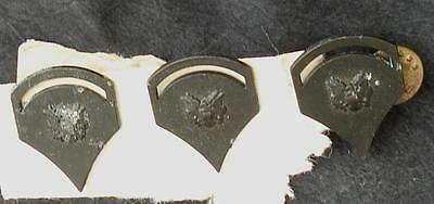 Nice Set of 3 Military Metal Pins, GOOD CONDITION, LOOK OLDER