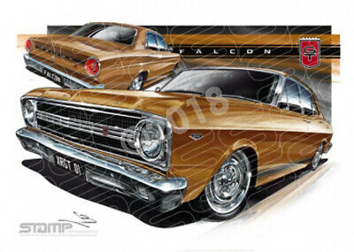 GT XR GT XR GT GOLD  STRETCHED CANVAS (FT064)-New_Itemq