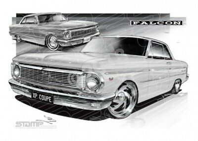 Coupe XP XP FALCON COUPE WHITE  STRETCHED CANVAS (FT060)-New_Itemq