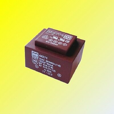 Encapsulated Mains Insulated PCB 230V Power Transformers 2x Output 6,9,12,15,24V