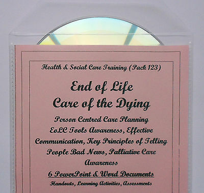 EOLC Tools Communication Care Planning Health & Social Care Level 3 Resource CD