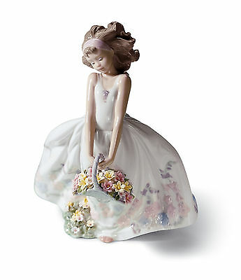 LLADRO WILDFLOWERS new in box...6647