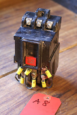 General Electric Cr1062R2B Manual Motor Starter Nema Sizxe M-O