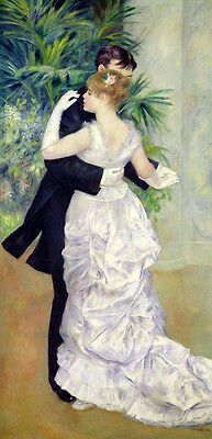 Wonderful oil painting portraits young dancers dancing At the ball on canvas