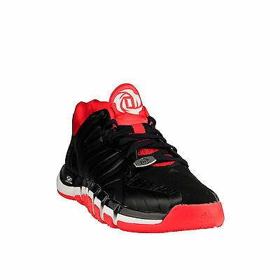 b81eeec2ac8 New Adidas D Rose Englewood II Low Basketball Shoes G99334 Chicago BULLS  Color
