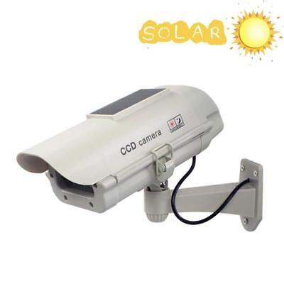 Dummy Security CCTV Camera - Solar Powered - Effective Security Deterrent!!