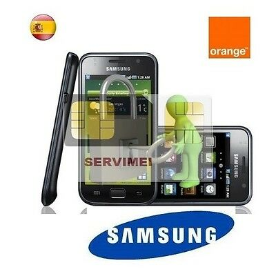 Liberar Cualquier Samsung Orange Galaxy, S2, S3, S4, S5,s6, S7, Note, Young, ...