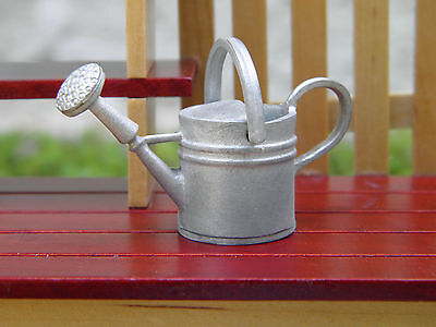Miniature Dollhouse FAIRY GARDEN Accessories ~ 2-Handle Tin Watering Can ~ NEW