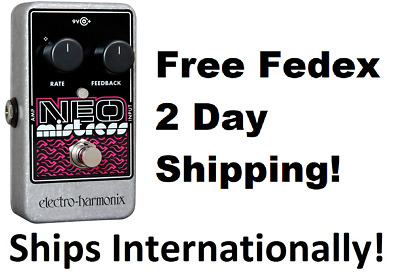 New Electro-Harmonix EHX Neo Mistress Flanger Guitar Effects Pedal!