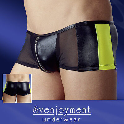 Boxer Maille & Wetlook Race Pants Lingerie Homme Sexy Gay Fashion