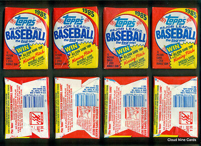 1985 Topps unopened wax pack - McGwire, Clemens, Puckett RC? MINT Many available