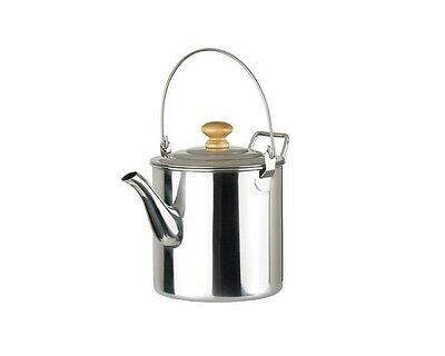 OUT-D 2000ml Camping Pot Outdoor Stainless Steel Kettle Coffee Pot CS-6