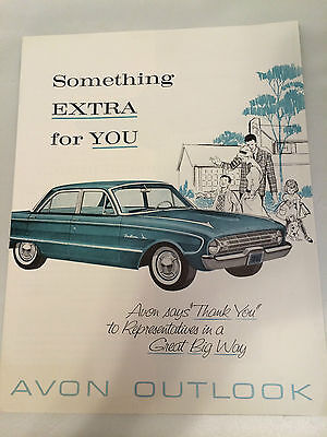 "RARE!! Vintage AVON ""Outlook"" Magazine C11, 1961 - MINT CONDITION!"