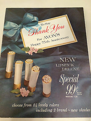 RARE!! Vintage 1961 AVON Brochure - Campaign 11 - MINT CONDITION!