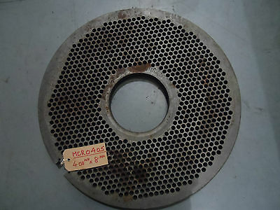 400mm Mincer Plate (Wolfking)