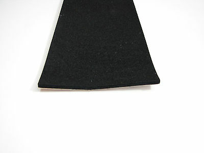 1 Piece of 1//4 x 4 Adhesive Backed Foam Rubber NFR.25-4-AB