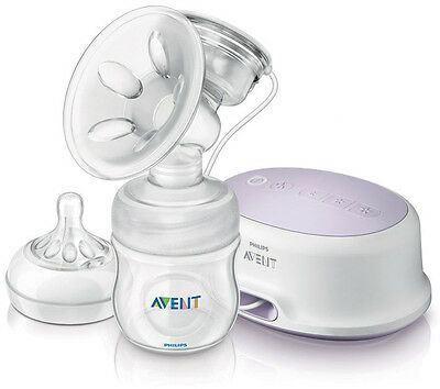 Phillips Avent BPA Free Portable Comfort Single Electric Breast Pump  #117501