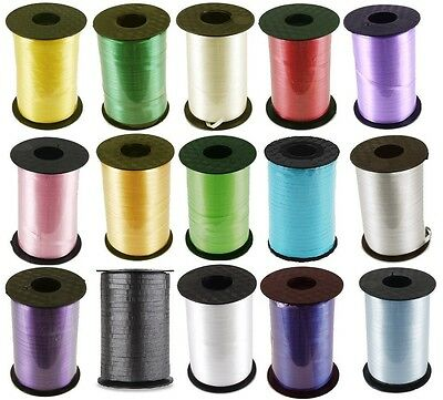 "Curling Ribbon 3/16"" x 500 Yards (1,500 ft) Crimped Spool Party Wedding Balloons"