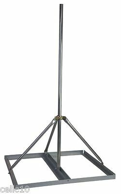 "Non-Penetrating Antenna Roof Mount with 1.25"" x 60"" Mast - EZ NP-60-125"