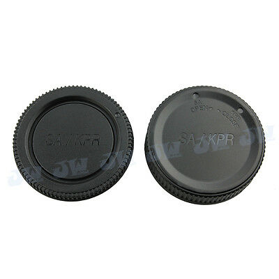 JJC Body Cap and Rear lens cap for SIGMA SD9/SD10/SD14/SD15 and other SA mount