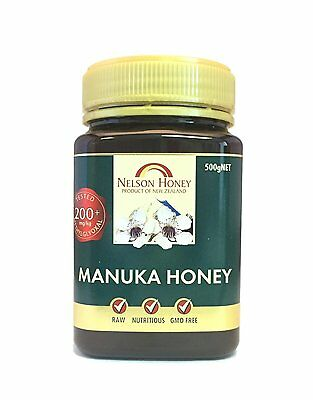 Nelsons Active Manuka Honey 200+  500g
