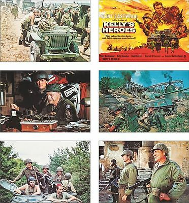 Kelly's Heroes Clint Eastwood POSTCARD Set