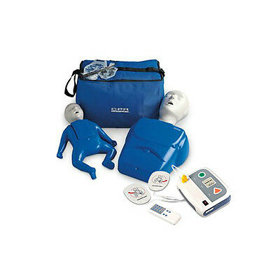 CPR Prompt Adult/Child and Infant Training Manikin + WNL AED Practi-Trainer