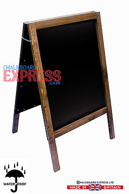 A Board Pavement Display Frame Stand Blackboard Chalk