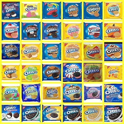 NABISCO OREO Creme Filled Sandwich or Chocolate Covered Cookies LIMITED EDITION