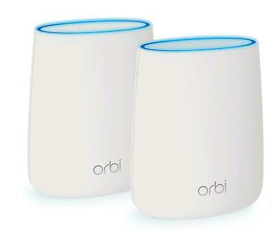 Netgear Orbi RBK50 AC3000 Tri-Band Wireless Gigabit Home Mesh System Router NEW