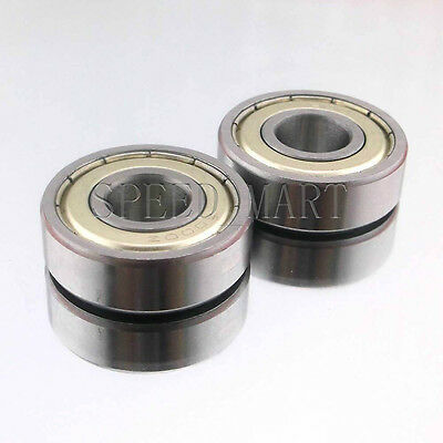 2PCS 6005ZZ Deep Groove Metal Double Shielded Ball Bearing (25mm*47mm*12mm)