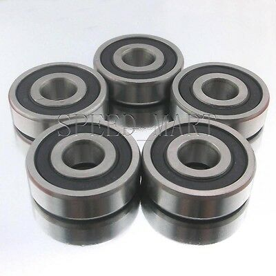 10x 6201-2RS Ball Bearing 12mm x 32mm x 10mm Deep Droove Rubber Seal NEW 62012Z