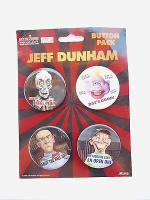 "Jeff Dunham Buttom Pack ""i Kieel You"" Original Merchandise  #151"