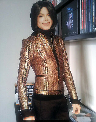 MICHAEL JACKSON DISPLAY Stand Standee Thriller Bad NEW Xscape Dangerous Who Is