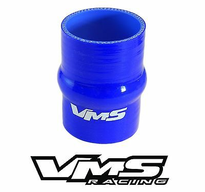 """2.5/"""" BLUE VMS RACING 3 PLY REINFORCED SILICONE STRAIGHT COUPLER"""