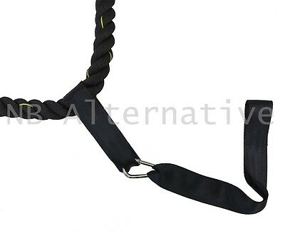 Anchor Strap Kit For Battle Rope Undulation Training Workout Fitness