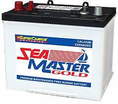 MARINE BATTERY SEAMASTER MFM50 GOLD Great Value Low Maintenance 2 Year Warranty