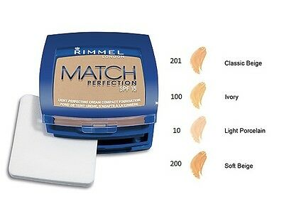 Rimmel Match Perfection Cream Compact # You Choose Shade