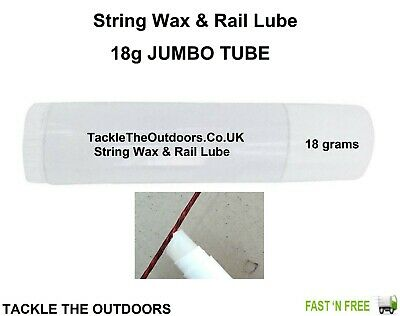 Bow Wax Rail Lube For Strings Archery Arrows Compound Recurve Bows & Crossbows