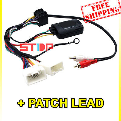 Mitsubishi Outlander Zg-Zh 2006-2012 Steering Wheel Control Harness + Patch Lead