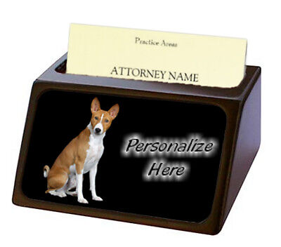 Basenj  Pet Breed  Personalized Business Card Holder
